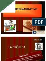 La Narracion y La Cronica
