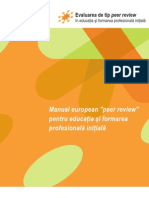 Peer Review European P R Manual RO