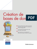 Creation de Bases de Donnees