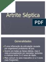 Artrite Séptica
