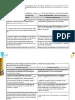 Cuadro de Fortalezas y Debildiades Del Curriculum Maria Guadalupe Mendoza
