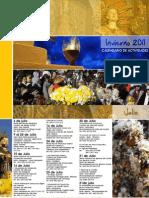 Guía Turística JAHA - Eventos y Actividades Invierno 2011 - Portal Guarani