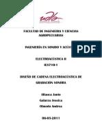 Informe Electroacustica Control Uno
