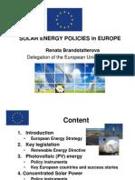 Solar Energy Policies in EU