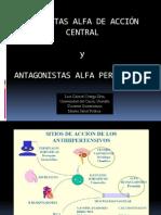 Agonistas+Centrales+y+Antagonistas+Alfa