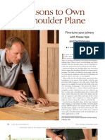 9 Reasons to Own a Shoulder Plane