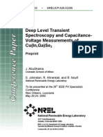 Deep Level Transient Spectroscopy
