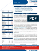MARKET OUTLOOK FOR 1 July - CAUTIOUSLY OPTIMISTIC