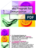 Expanded Program for Immunization Chd Report