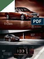 2010 11 Brochure E-Class