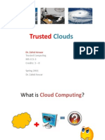 Lecture 9 Trusted Clouds