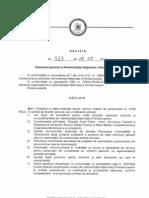 Decizia ANP 523-2011 Atributiile Directorului General Si Directorilor Generali Adjuncti ai ANP