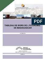Tableau de bord de l'économie de Madagascar, Numéro 01 (INSTAT - 2010)