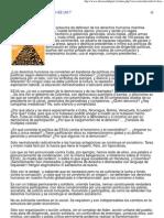 Y Los Derechos Humanos en EEUU - Rouillon Delgado