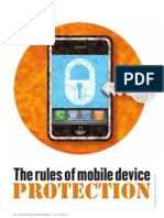The Rules of Mobile Device Protection