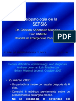 Fisiopatología de la SEPSIS