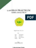 Cover LAPORAN Analitik