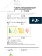 Soal UN Matematika SMP Dan Pembahasan