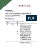 VSAM-File Status Codes