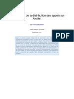 Alcatel Distribution Des Appels
