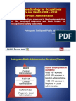 Portuguese Strategy for Occupational Safety and Health 2008 - 2012 for Public Administration