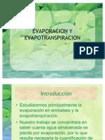 EVAPORACION Y EVAPOTRANSPIRACION[1]