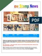 Rainbow Stamp News July 2011