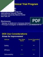 Endeavor Clinical Trial Program