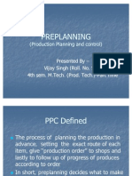 Pre Planning