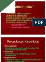 KARBOHIDRAT (kimia)