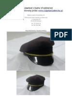 Warszawskie czapki studenckie