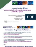 Presentacion ONUDI en Simposio OMPI Propiedad Intelectual Lima Junio 2009