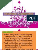 Denotatif & Konotatif-hanisah Haron