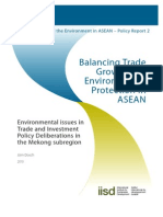 IISD Series on Trade and the Environment in ASEAN – Policy Report 2