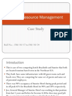 Human Resource Management c Ase Study