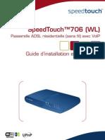 Speedtouch706WL Manuel