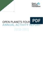 OPF Annual Report 2010-2011