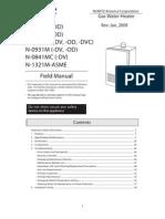 Noritz Field Manual - 2009