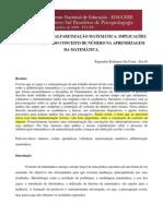 FUNDAMENTOS DA ALFABETIZAÇÃO MATEMÁTICA