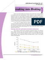 Breaking Into Broking