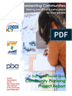 Dart Street Home Zone Community Planning Report - LP England - 2007 - FINAL