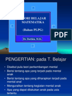 TeoriBelajar Power Point