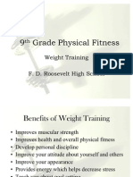 Physical Fitness - Weight Training