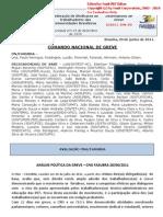Informe 9 do Comando Nacional de Greve (29.jun.2011)