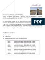 Axell Wireless CSR Channel Selective Repeaters_ Data Sheet