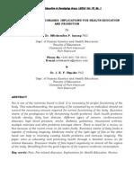 INYANG and OKPAKO Fat Related Diseases