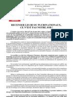 Recensement Bi Ou Plurinationaux 01072011