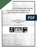 XRD Onstream Phosphate