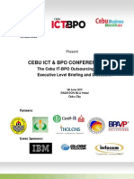 ICT Conference Agenda