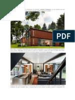 La construcción de viviendas con contenedores de transportes